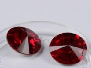 Kristali srca SWAROVSKI GARNET